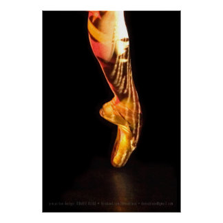 Ballet Foot P-4790xlg Print