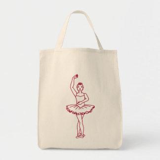 Ballet Fourth Position Tote Bag