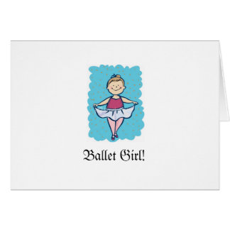 Ballet Girl! Card