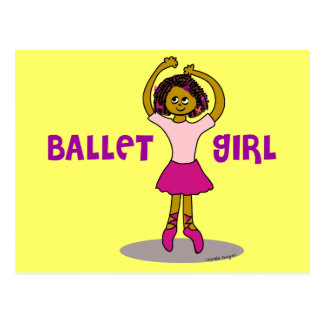 Ballet Girl Gifts Post Cards