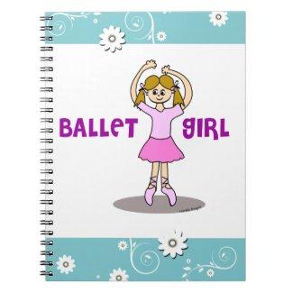 Ballet Girl Notebook