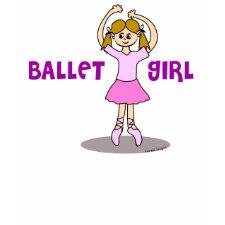 Ballet Girl T-shirt
