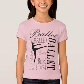 Ballet Girls Babydoll T - Arabesque T-Shirt