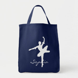 Ballet Grocery Tote Bag