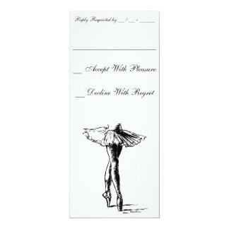 Ballet Invitaciones Personalizada
