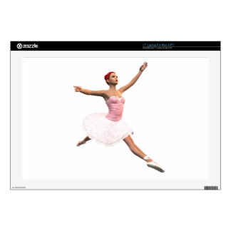 """Ballet Jete Decal For 17"""" Laptop"""