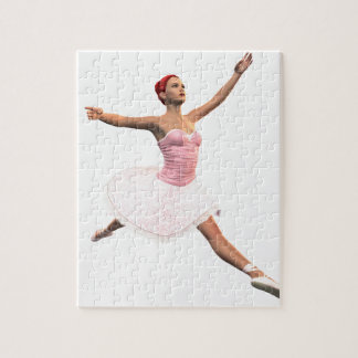 Ballet Jete Jigsaw Puzzle