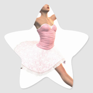 Ballet Jete Star Sticker