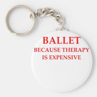 ballet key chain
