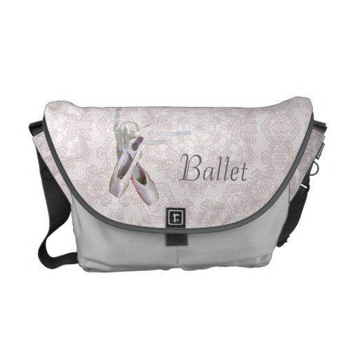 'Ballet & Lace' Rickshaw Messenger Bag