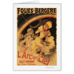 ballet L'Arc-en-Ciel en Folies-Bergere Felicitación