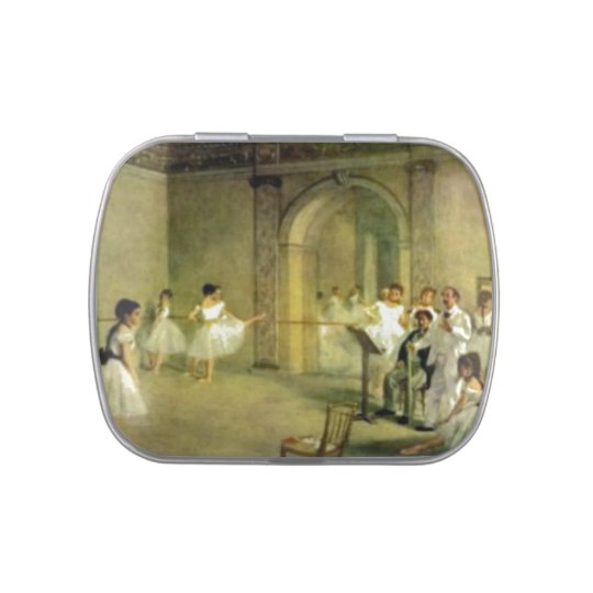 Ballet Lesson by Edgar Degas Jelly Belly Candy Tins