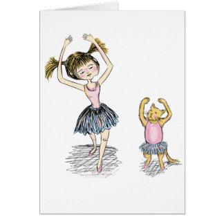 Ballet Lessons Card