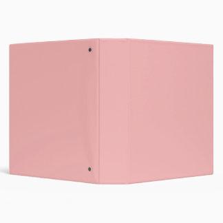 Ballet Light Pink Personalized Peach Background Binder