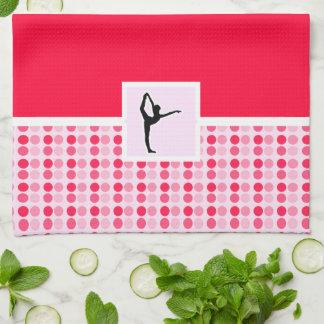 Ballet lindo toalla de cocina