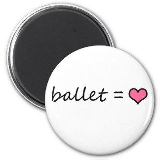 Ballet = Love Magnet