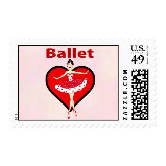 Ballet Love Stamps