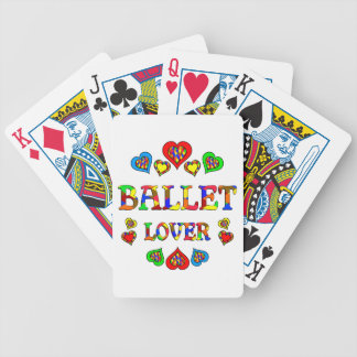 Ballet Lover Bicycle Card Deck