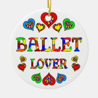 Ballet Lover Christmas Ornaments