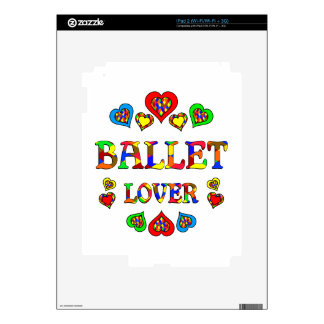 Ballet Lover Decal For iPad 2