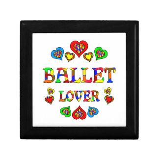 Ballet Lover Jewelry Boxes