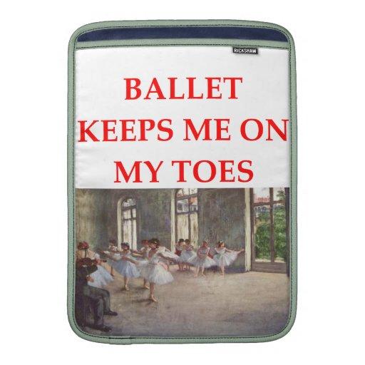 ballet MacBook sleeve