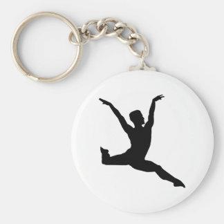 Ballet man keychain