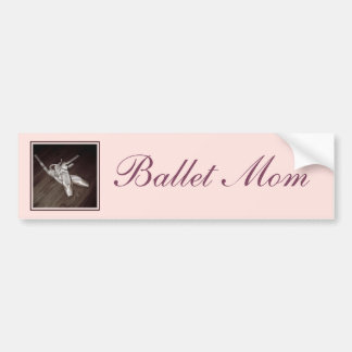'Ballet Mom' Bumper Sticker