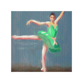 Ballet Move Canvas Print