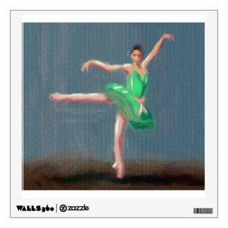 Ballet Move Wall Sticker