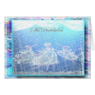 """Ballet """"nieve"""" - 355 del cascanueces tarjeta de felicitación"""
