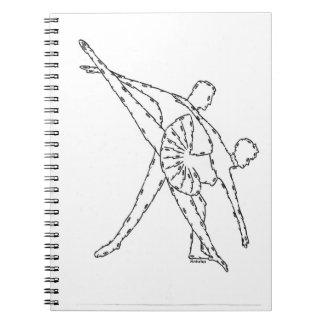"""""""BALLET"""" NOTEBOOK, by MINIFACES Spiral Note Book"""