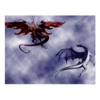 Ballet of the dragons - postcard