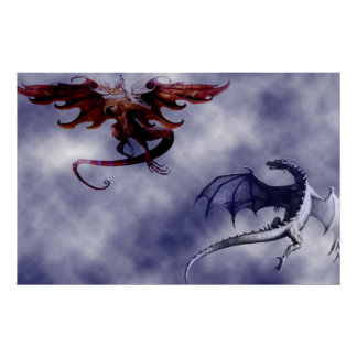 Ballet of the dragons - poster