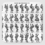 Ballet of the Polichinelles Stickers