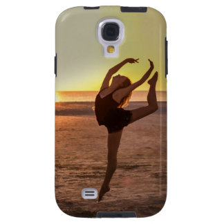 Ballet on the Beach Galaxy S4 Case