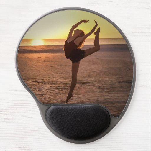 Ballet on the Beach Gel Mouse Pads
