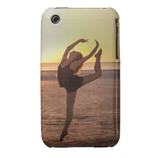 Ballet on the Beach iPhone 3 Case