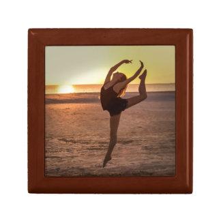 Ballet on the Beach Jewelry Box