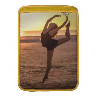 Ballet on the Beach Macbook Air Sleeve