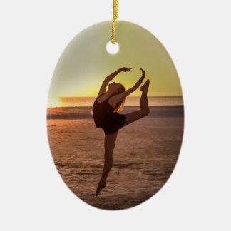 Ballet on the Beach Ornament