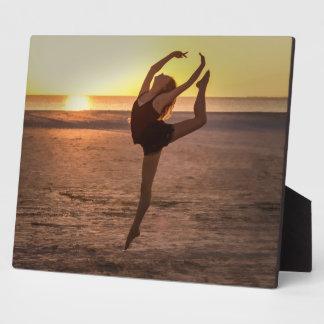 Ballet on the Beach Photo Plaque