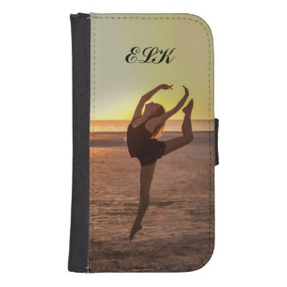 Ballet on the Beach Phone Wallet