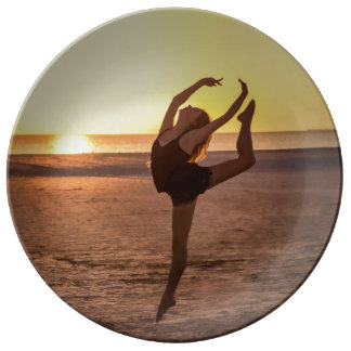 Ballet on the Beach Plate