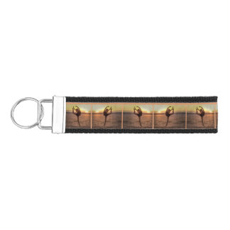 Ballet on the Beach Wrist Keychain