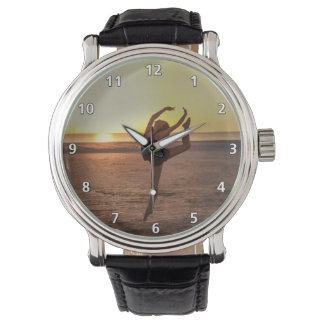 Ballet on the Beach Wristwatch