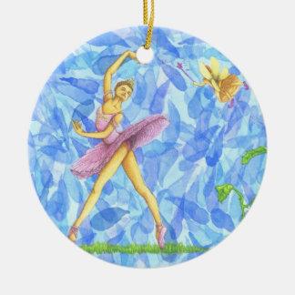 Ballet Ornament Pink