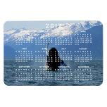 Ballet pacífico; Calendario 2012 Imán Rectangular