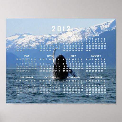 Ballet pacífico; Calendario 2012 Poster