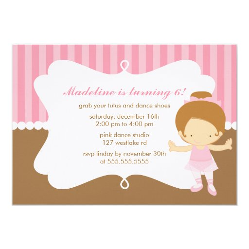 Gymnastic Party Invites is luxury invitation layout